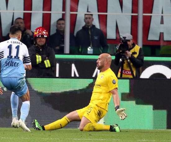 La Lazio aurait refusé une offre de l'Atlético pour Correa. EFE