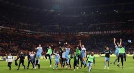 La Lazio cede a Baxevanos al Panionios. EFE