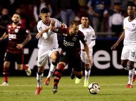 Liga de Quito sigue vivo en la Libertadores. EFE