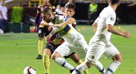 Gorosito elogió a Benedetto pese a no marcar. EFE