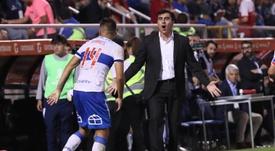 El técnico de Universidad Católica no ve a Chile preparada para albergar la final. EFE