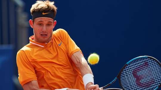 El tenista chileno Nicolas Jarryen el Open Barcelona Banc Sabadell. EFE/Archivo