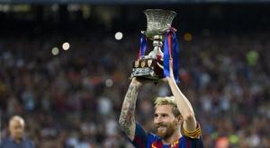 Repassamos a carreira de Messi no Barcelona. EFE
