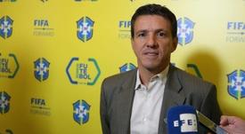 Juninho Paulista é o novo coordenador da Seleção. EFE