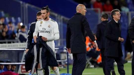 Zidane left his stance on Gareth Bale clear. EFE