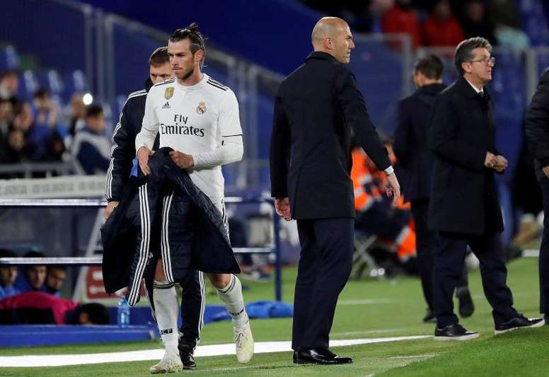 Zidane left his stance on Gareth Bale clear. EFE