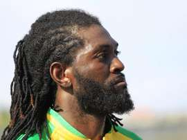 Adebayor is due to arrive in Paraguay next week. EFE