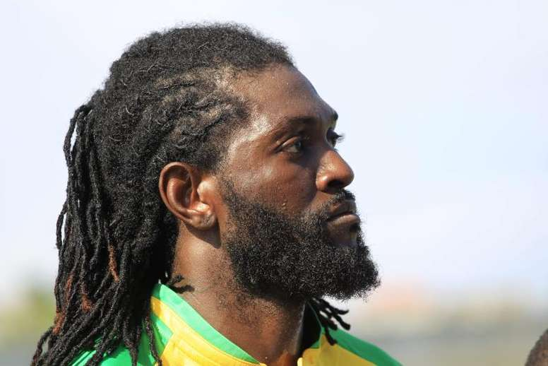 Adebayor is once again without a club. EFE/Archivo