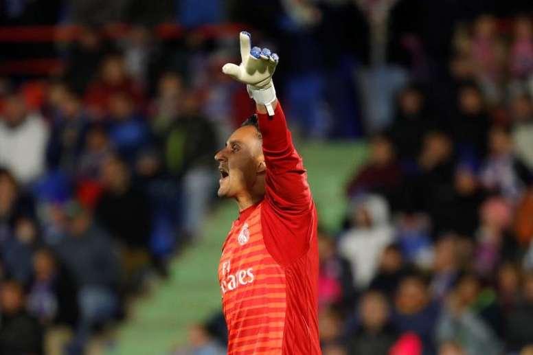 Keylor Navas no dejará el Real Madrid. EFE