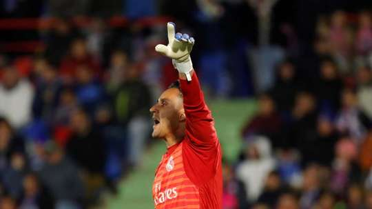 Keylor Navas could well move to PSG in the coming days. EFE