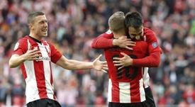 Muniain confirmó que el Athletic mantendrá el salario. EFE