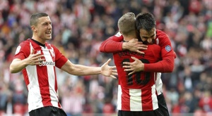 Athletic were held at home by Alavés. EFE