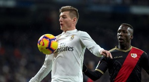 Toni Kroos has extended his Real Madrid contract. EFE