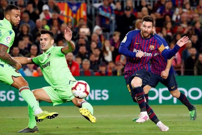 Carragher elogió a Leo Messi. EFE