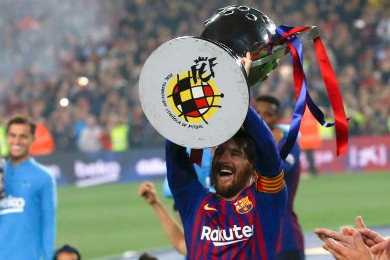 Ni Bayern, ni Juventus, ni Madrid pueden con Messi. AFP