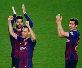 Moreno defended Busquets after ongoing criticism. EFE