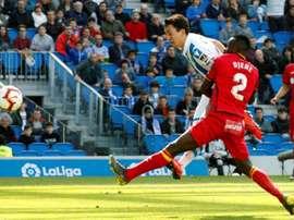 Real dealt a blow to Getafe's Champions League dream. EFE