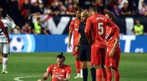 O Real sem Benzema: 574 minutos sem marcar. EFE