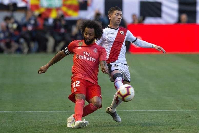 Marcelo descarta sair do Real Madrid. EFE