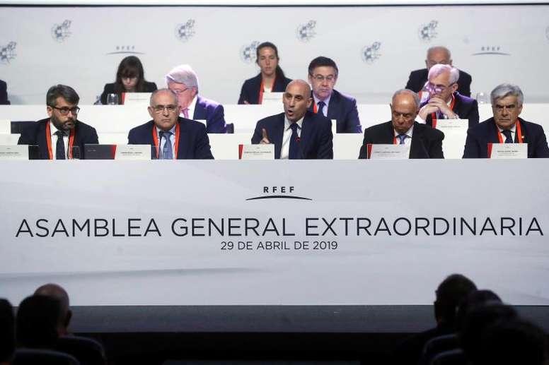 Nueva Asamblea de la RFEF. EFE