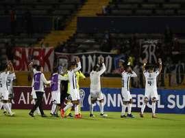 Colo Colo consiguió la victoria en el partido de ida. EFE