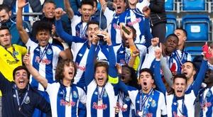 Grande performance des jeunes de Porto. EFE