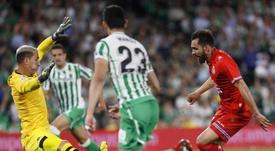 Betis y Espanyol empataron a uno. EFE