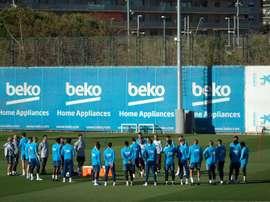Le Barça cherche de nouveaux talents au Brésil. EFE/Archive