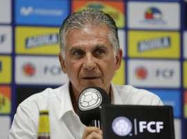 Queiroz cree que Colombia puede ganar la Copa América. EFE