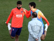 El Atleti se enfrenta al Espanyol. EFE