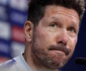 Simeone made it clear that he wants his side to finish 2nd. EFE