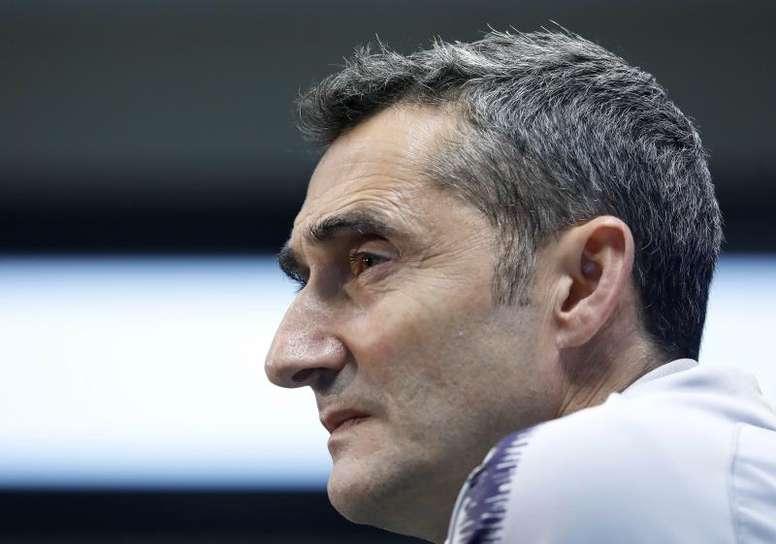 Valverde, pointé du doigt. EFE