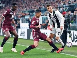 Torino - Juventus: onzes iniciais confirmados. EFE