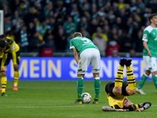 El Borussia Dortmund empata y el Bayern se acerca al título. EFE/EPA