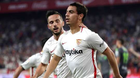 PSG may look to sign Ben Yedder this summer. EFE
