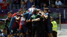 El Levante quiere reforzar sus filas con Bellegrade. EFE