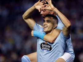 Barcelona's offer for Maxi Gomez is too low for Celta Vigo. EFE