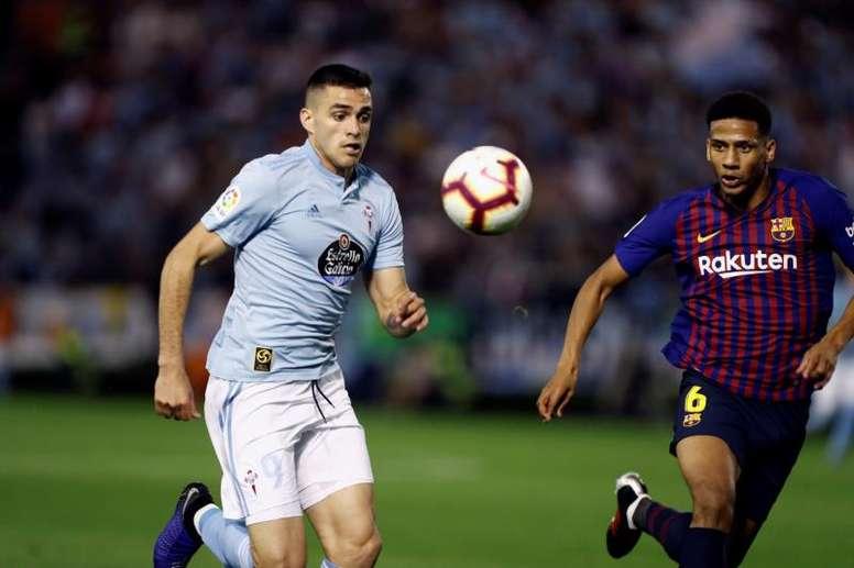 El Celta no quiere dejar escapar al uruguayo. EFE