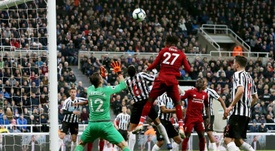 Origi was the hero for Liverpool on a exciting night at St James' Park. EFE