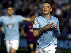Aspas has faced Real Madrid on 14 occasions. EFE