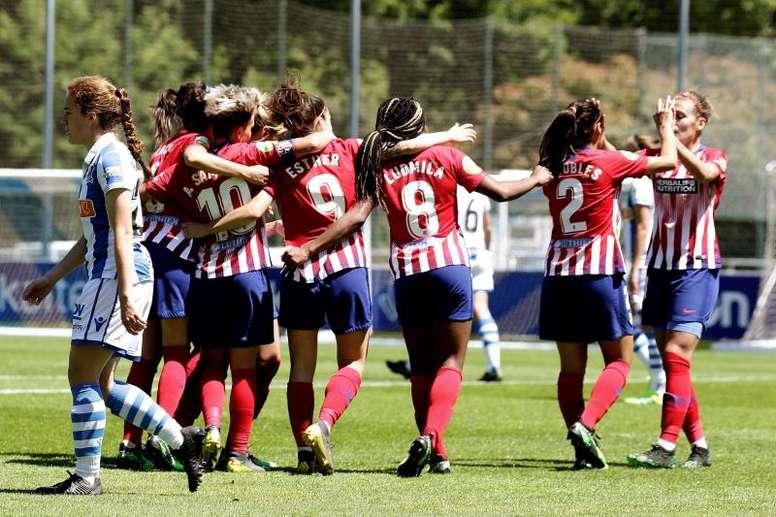 Así es el nuevo modelo del fútbol femenino español. EFE