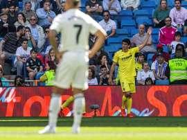 Moreno has not had a good season at Villarreal. EFE/Archivo