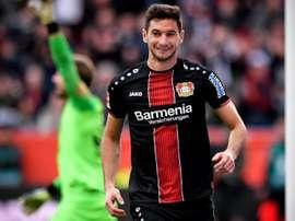 Tremenda goleada del Bayer Leverkusen al Eintracht. EFE