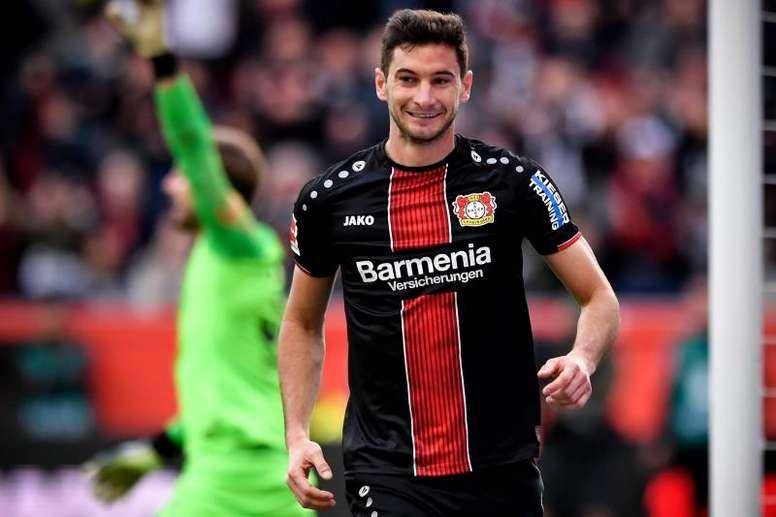 El pistolero argentino de un invicto en Alemania va a gol por partido. EFE