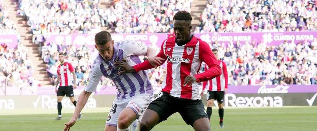 Le Normand espère jouer et être meilleur que Bilbao. EFE