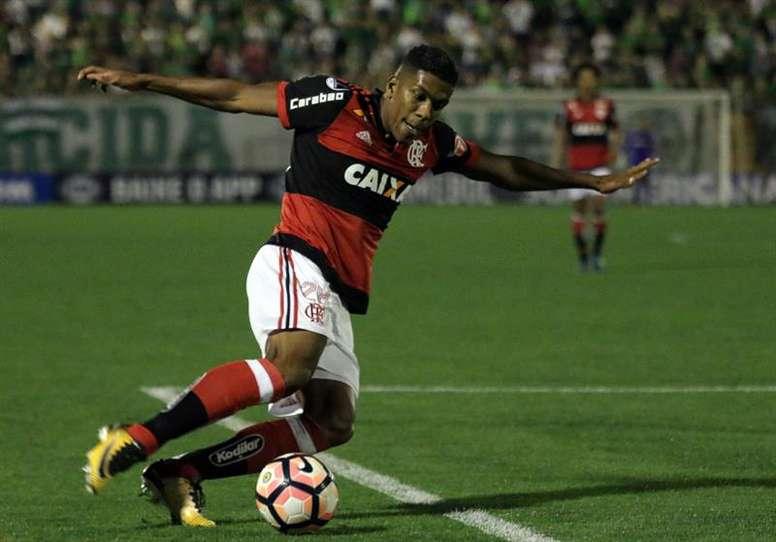 Berrío pode não continuar no Flamengo. EFE
