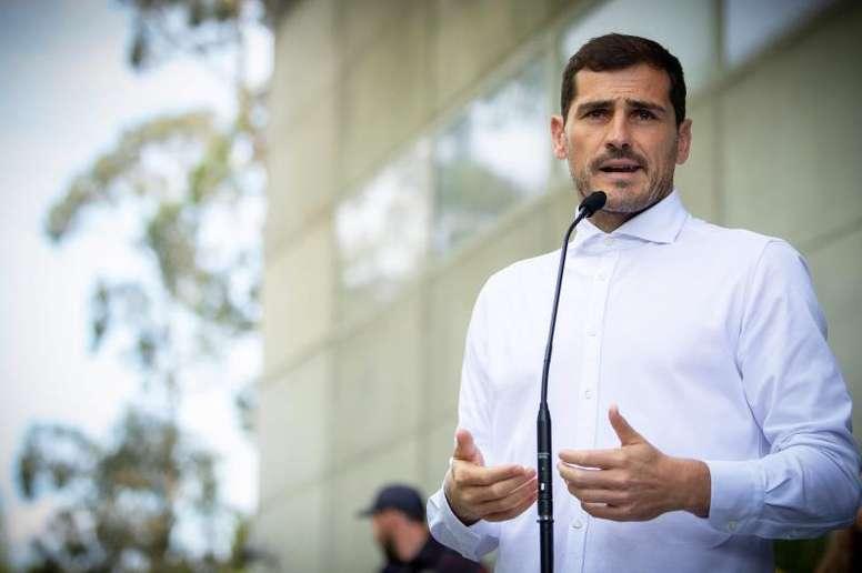 Iker Casillas pourrait prendre sa retraite. EFE