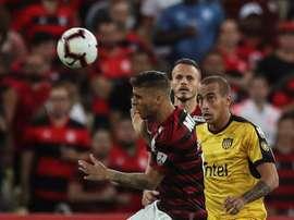 Pellegrini regarde du côté du Brésil. EFE