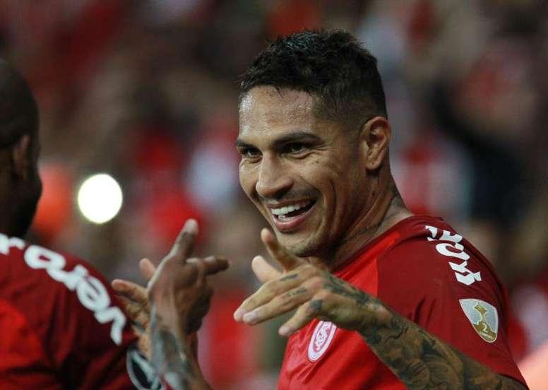 Guerrero amplia vantagem e garante Inter na final. EFE/Archivo