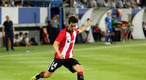 Markel Susaeta voudrait jouer loin d'Espagne. EFE/Archivo